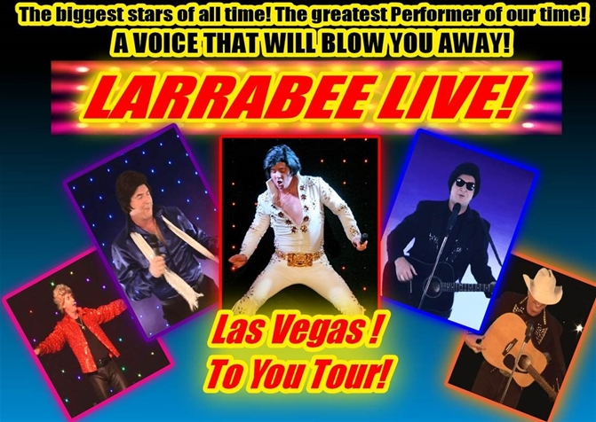 Larrabe Live - Vegas to You Tour September 10th